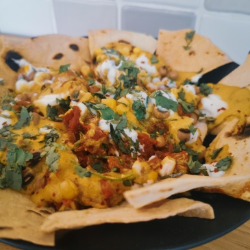 pinch of kindness vegan loaded nachos