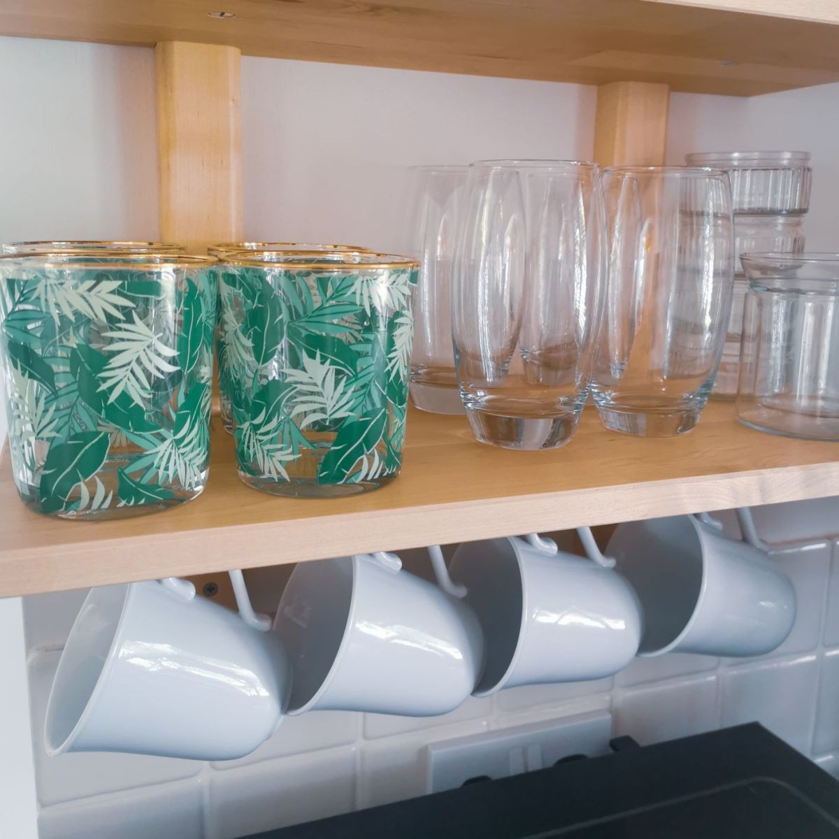 making the most of your kitchen shelves